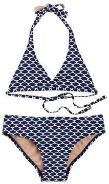 Toobydoo Selina Ikat Print Bikini (Toddler, Little Girls, & Big Girls)