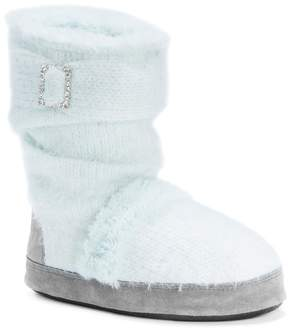 Muk Luks Women's Jenna Sweater Knit Boot Slippers