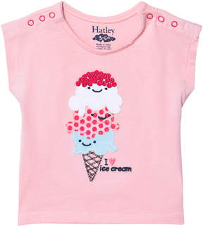 Hatley Ice Cream Love Mini Snap Tee