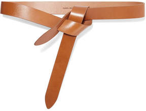 Isabel Marant Lecce Leather Belt - Camel