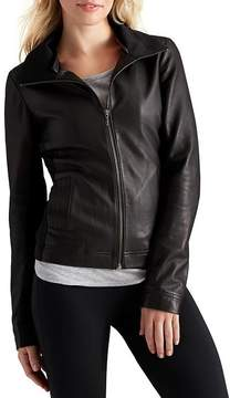 Athleta Strut Leather Jacket