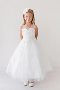 No Name Lace Trim Dress