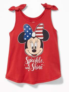 Old Navy Disney© Minnie Mouse Sparkle and Shine Tank for Toddler Girls