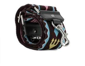 Valentino Men's Multicolor Fabric Shoulder Strap.