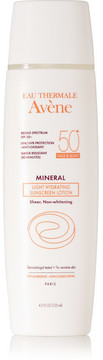 Avene - Spf50 Mineral Light Hydrating Sunscreen Lotion, 125ml - Colorless