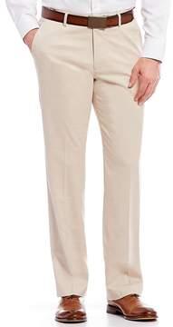 Murano Zac Flat-Front Herrngbone Pants