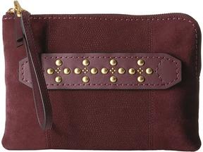 Vera Bradley Mallory Wristlet Wristlet Handbags - BITTERSWEET CHOCOLATE - STYLE