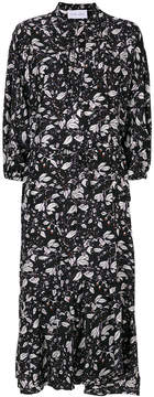 Christian Wijnants leaf print tea dress