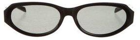 Saint Laurent Oval Tinted Sunglasses