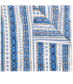 Stella McCartney jacquard pattern scarf