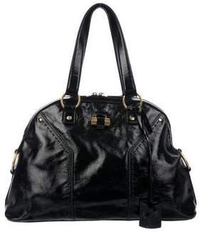 Saint Laurent Patent Leather Muse Bag
