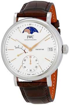IWC Portofino Silver Dial Men's Hand Wound Watch