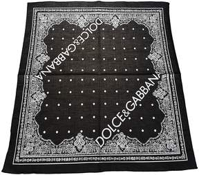 Dolce & Gabbana Bandana Logo Foulard