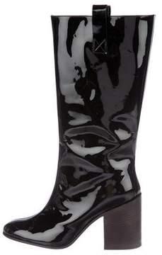 Acne Studios Patent Mid-Calf Boots