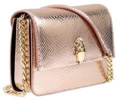 Class Roberto Cavalli Rose Gold Milano Bag Medium Milano Rmx 0