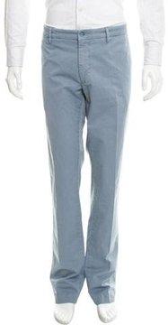 Mason Flat Front Straight-Leg Pants w/ Tags