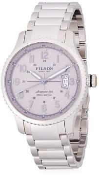 Filson Men's Mackinaw Stainless Steel Bracelet Watch
