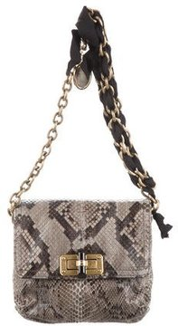 Lanvin Python Happy Mini Pop Bag
