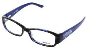 Just Cavalli Jc0456/v 055 Indigo Rectangle Optical Frames.