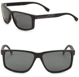 HUGO 60MM Square Sunglasses