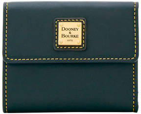 Dooney & Bourke Emerson Small Flap Wallet - BLACK - STYLE