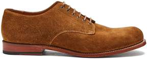 Grenson Leo suede derby shoes