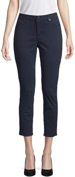 Ellen Tracy Women's Newport High-Rise Cropped Skinny Pants