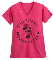 Disney Minnie Mouse Mouseketeer T-Shirt for Women