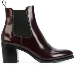 Church's varnished ankle boots