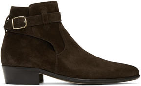 Paul Smith Brown Suede Dylan Boots