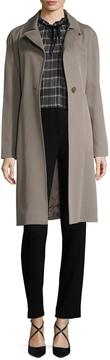 Cinzia Rocca Women's Cotton Belted Over Coat