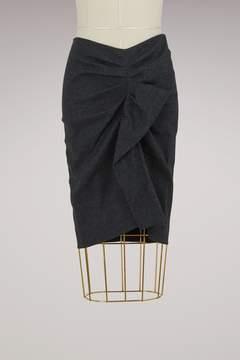 Etoile Isabel Marant Linen Ornela skirt