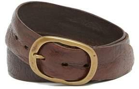 John Varvatos Collection Artisan Tooled Leather Belt