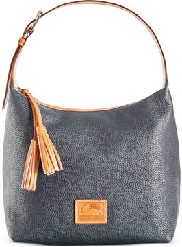 Dooney & Bourke Patterson Leather Paige Sac Hobo - BLACK - STYLE