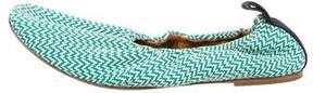 Celine Knit Ballet Flats