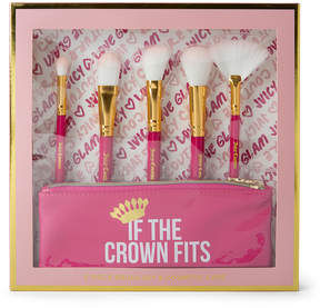 Juicy Couture Hot Pink & Gold 'Juicy Couture' Makeup Brush Set