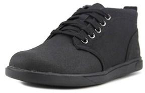 Timberland Grvtn Chkf/l Youth Round Toe Synthetic Black Chukka Boot.