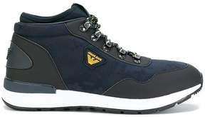 Armani Jeans low-top mountain sneakers