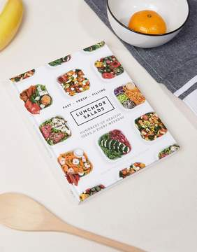 Books Lunchbox Salads Cook Book