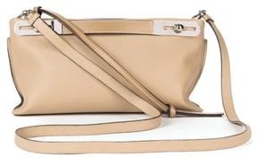 Loewe Small Missy Leather Crossbody Bag - Beige