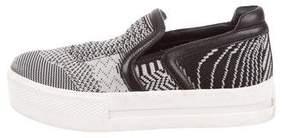 Ash Knit Slip-On Sneakers