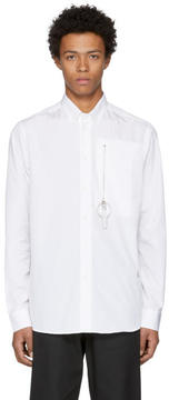 Oamc White Zip-Lock Shirt