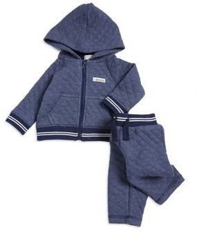 Absorba Baby Boy's Quilted Jacket and Jogger Pants Set