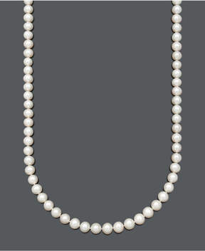 Belle de Mer Aa+ Cultured Freshwater Pearl Strand Necklace (8-1/2-9-1/2mm) in 14k Gold