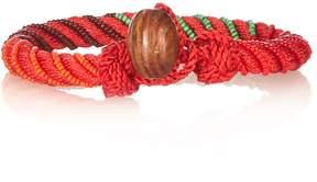 Aurelie Bidermann Maya bead-embellished bracelet