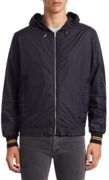 McQ Hooded Rain Jacket