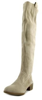 Fergie Romance Round Toe Suede Over The Knee Boot.