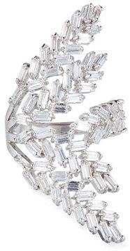 Fallon Monarch Deco Fern Crystal Ring