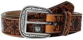 Ariat Fancy Scroll Embossed Belt Men's Belts