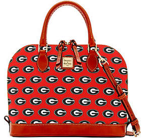 Dooney & Bourke NCAA University of Georgia ZipZip Satchel - ONE COLOR - STYLE